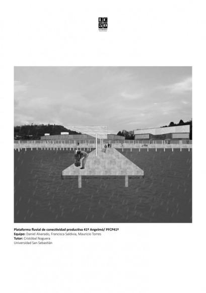 Angelmó / Lámina 01. Imagen Cortesía de Arquitectura Caliente