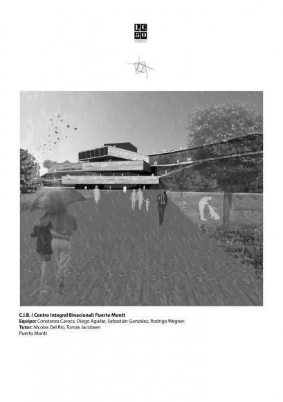 Ladera intendencia / Lámina 01. Image Cortesía de Arquitectura Caliente