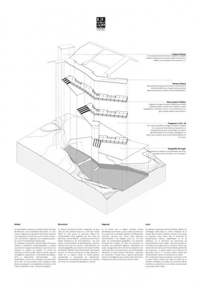 Ladera Egaña / Lámina 02. Image Cortesía de Arquitectura Caliente