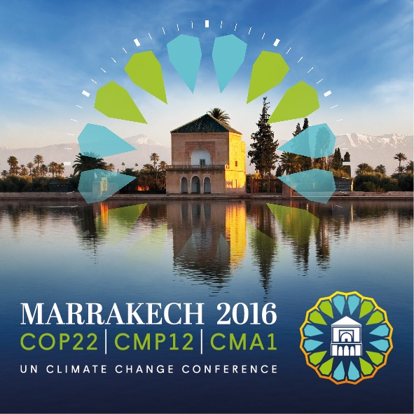 Logo COP22 Marrakech Marruecos