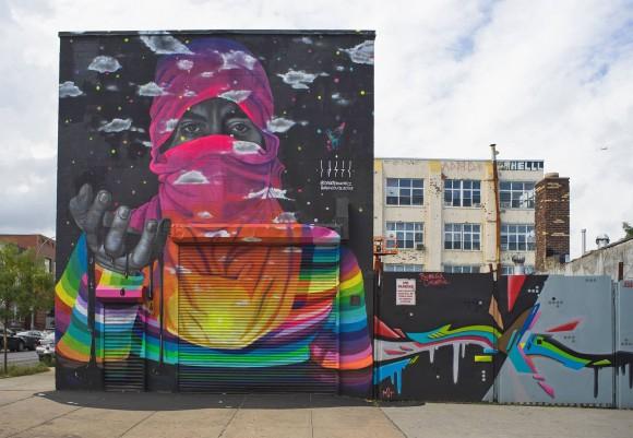 """""""Mano de protesta"""", Brooklyn, Nueva York (2014). Cortesía de Dasic Fernández"""