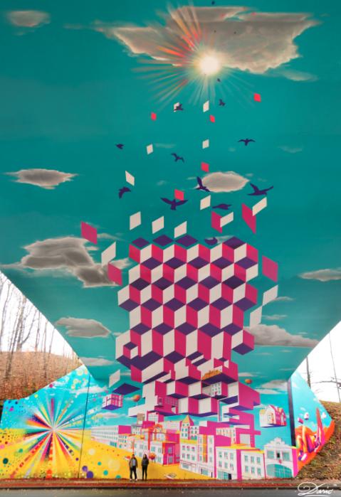 """""""Underpass Illusion"""", Nueva York. Cortesía de Dasic Fernandez"""
