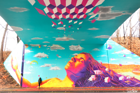 """Underpass Illusion"", Nueva York. Cortesía de Dasic Fernandez"