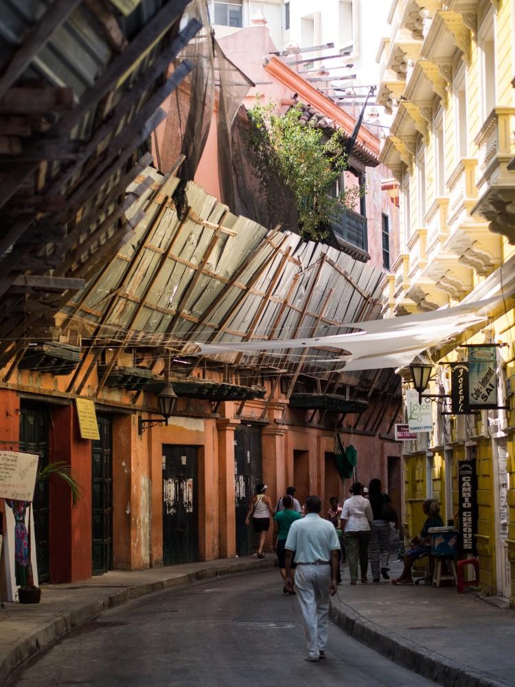 Remodelaciones en centro histórico de Cartagena de Indias. Image © Tue S. Dissing [Flickr], bajo licencia CC BY 2.0