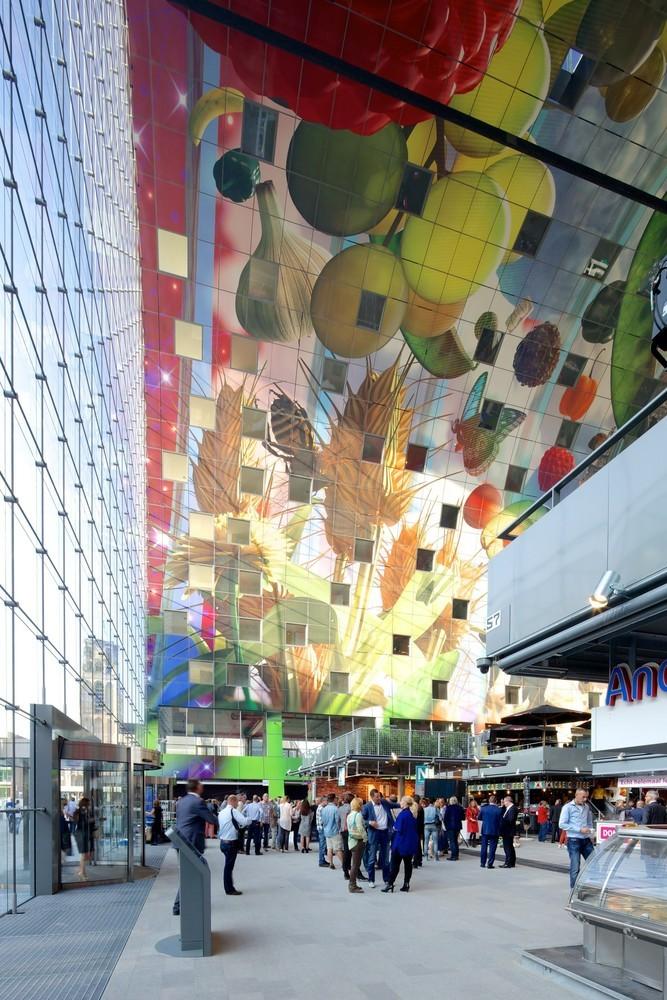 Markthal Rotterdam por MVRDV. Imagen © Nico Saieh