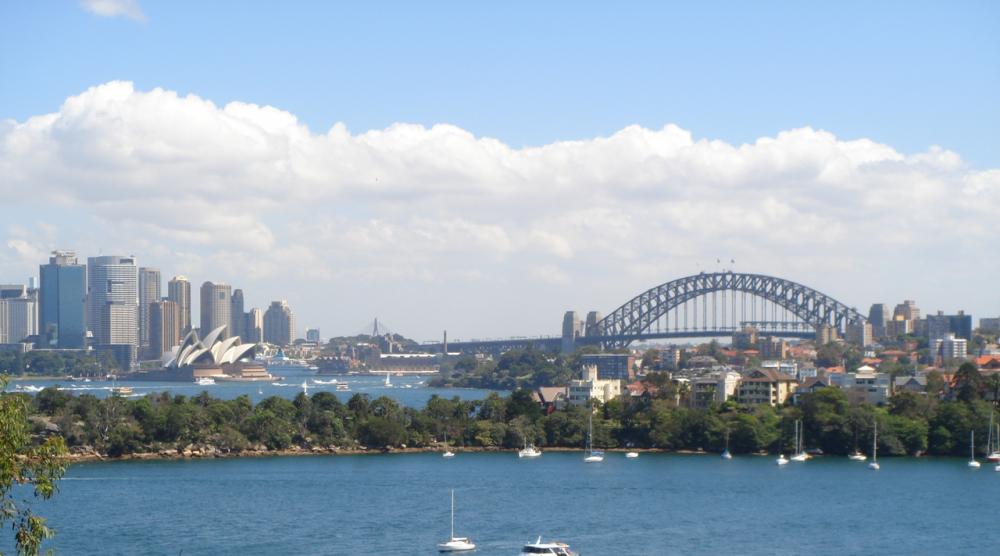 Bahia de Sídney, Australia © Wikimedia Commons Usuario: Rfsjim. Licencia: CC BY-SA 3.0