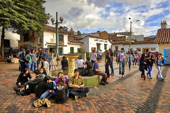 Bogota Colombia Flickr Usuario szeke Licencia CC BY-SA 2.0