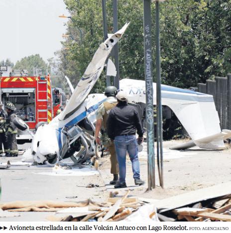 aerodromo peldehue accidente tobalaba