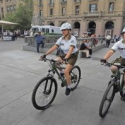 Carabineros patrullaje bicicletas