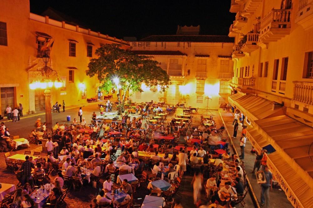 Zona turística de Cartagena de Indias en barrio histórico. Image © Michael Keen [Flickr], bajo licencia CC BY-NC-ND 2.0
