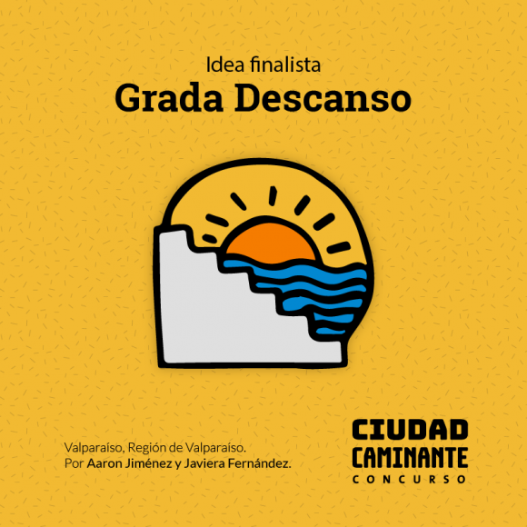 Concurso Ciudad Caminante Grada Descanso