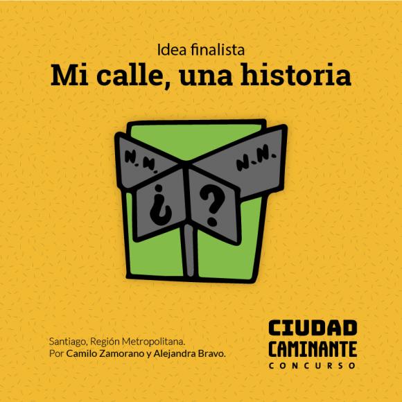 Concurso Ciudad Caminante Mi calle una historia