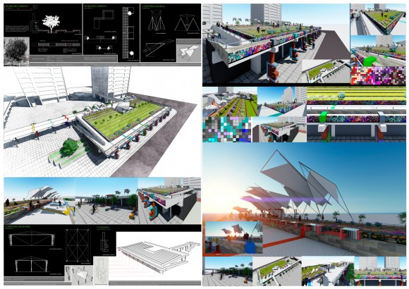 Futuro Pasarelas Verdes en Pixeles / Luis Silva + Beckelyn Olivas