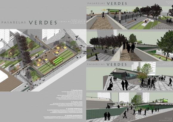 Líneas de San Borja / Macarena Urrutia + Sebastián Zúñiga. Image Cortesía de Pasarelas Verdes