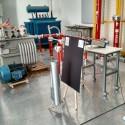 Prueba de filtro en laboratorio de alto voltaje UTFSM.  Cortesía equipo MPZERO para Plataforma Urbana
