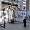 Instalación en estufa y espacio de una vivienda promedio. Cortesía equipo MPZERO para Plataforma Urbana