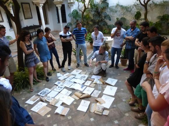Trabajo de alumnos y académicos. Image Cortesía de Premio Rafael Manzano Martos