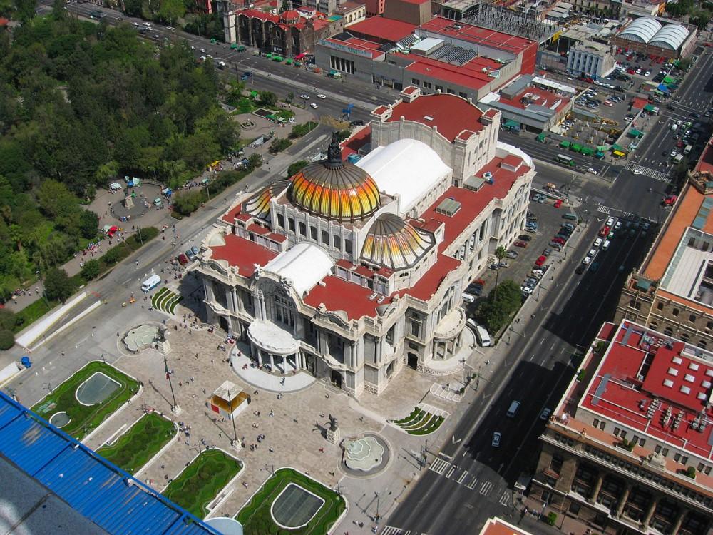 Palacio de Bellas Artes de la Ciudad de México © Wikimedia Commons Usuario: Jeses. Licencia: CC BY-SA 2.5