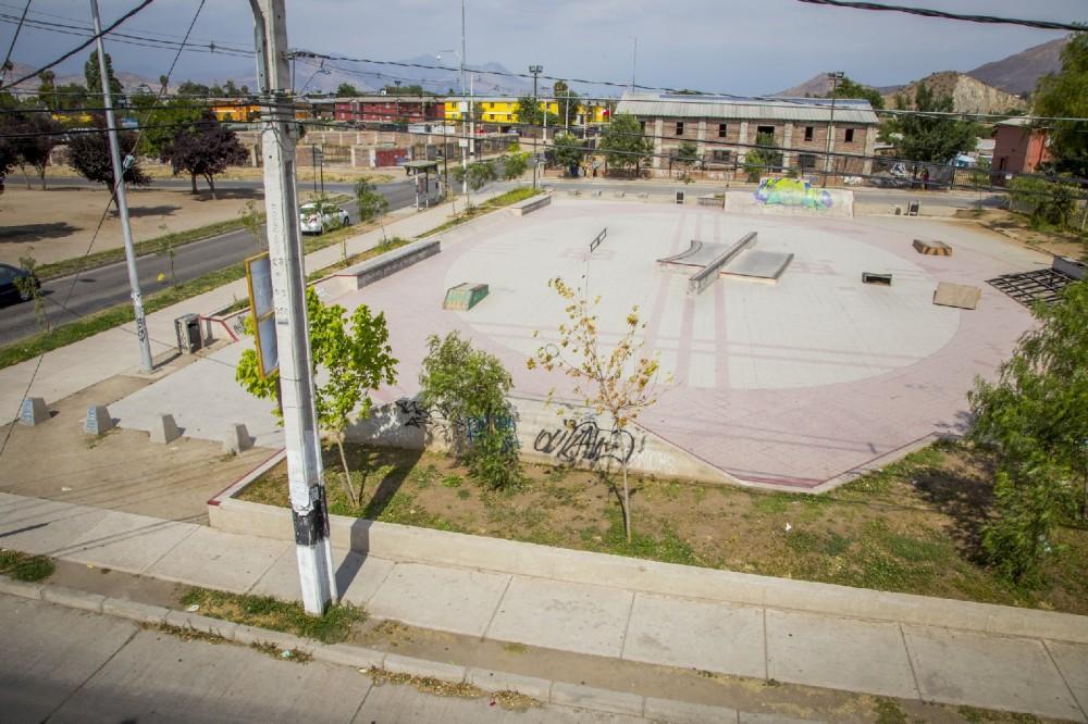 skatepark Valle de la Luna. Fuente: Quilicura Participa