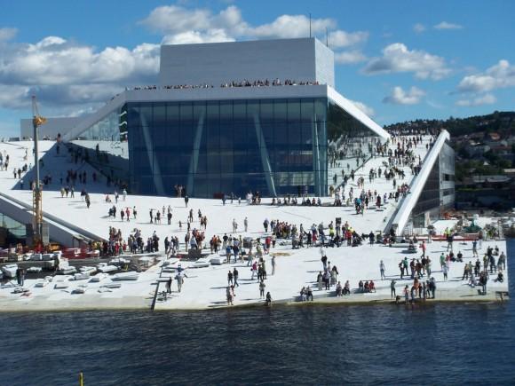 Ópera de Oslo de Snøhetta. Imagen © Snøhetta