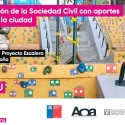 Fundación Mi Parque por el proyecto escalera Buenaventura Argandoña. (Coquimbo)