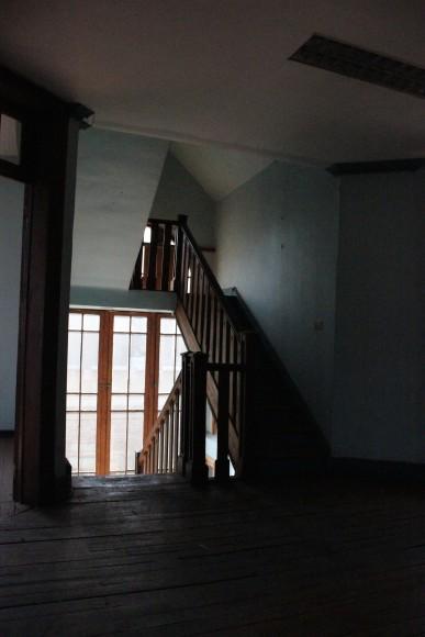 José Domingo Cañas Nº 901. Hall del segundo nivel. © Andrés Morales Zambra