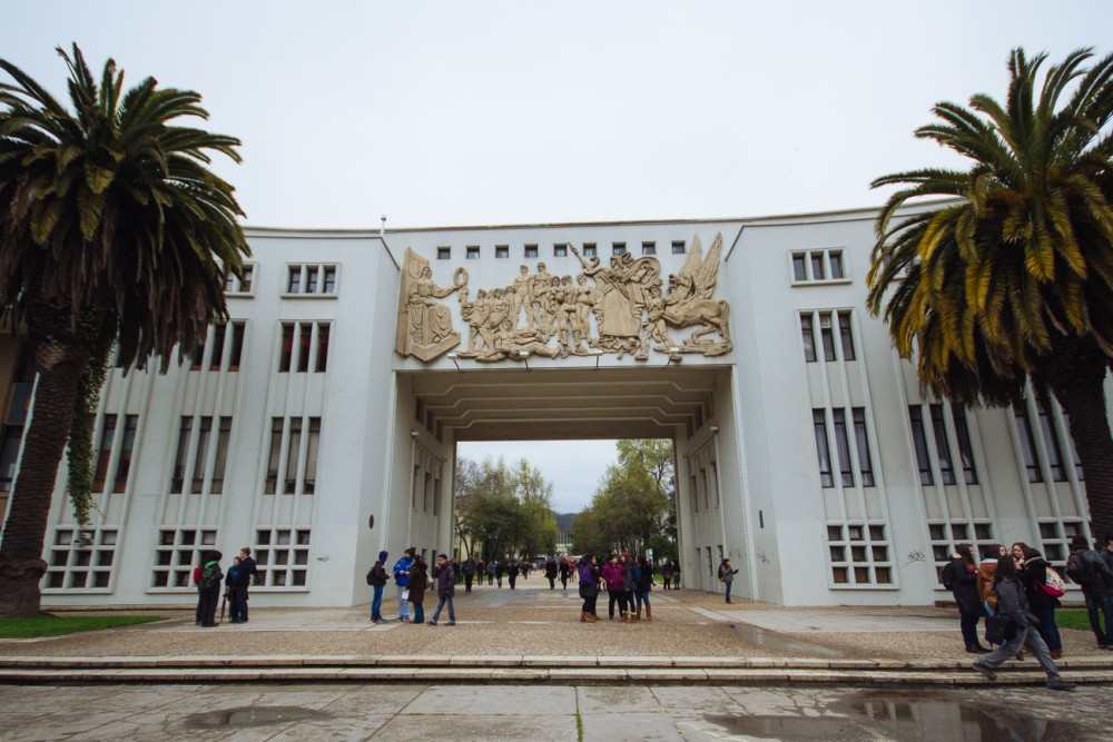 Arco de la Universidad de Concepción. Foto: © Plataforma Urbana