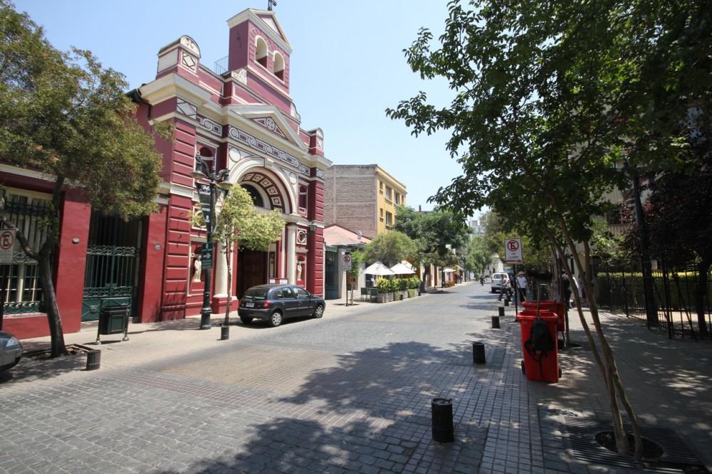 Barrio Lastarria. Foto: © Plataforma Urbana