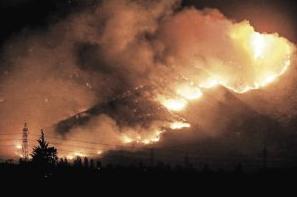 Incendio forestal Pirque