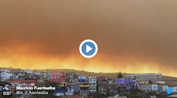 Incendio Valparaiso 2017