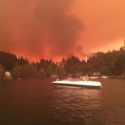 Lago Vichuquen incendio