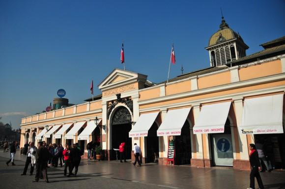Mercado Central de Santiago. Foto: © Plataforma Urbana