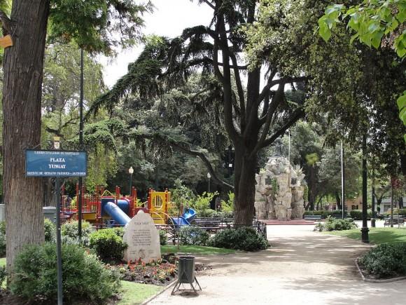 Plaza Yungay, Santiago. © Wikimedia Commons Usuario: frasq. Licencia CC BY-SA 4.0