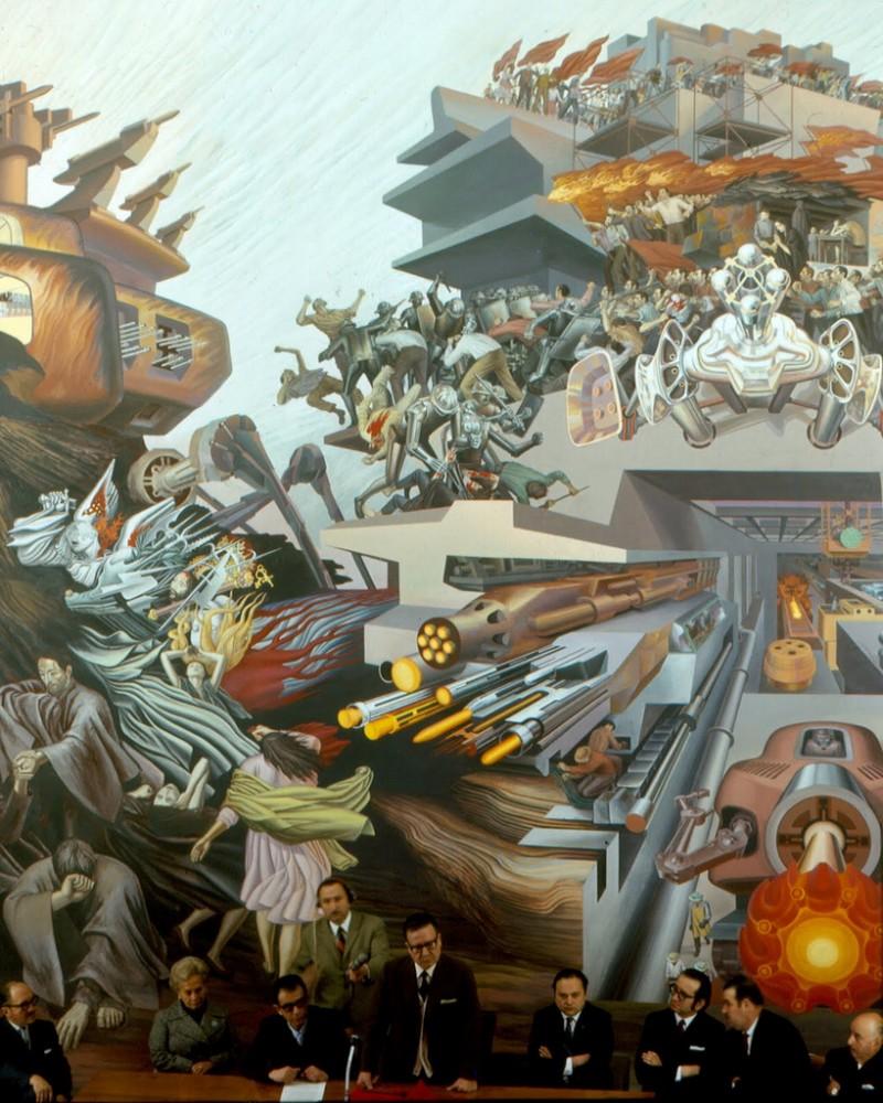 """""""Principio y Fin"""" - Julio Escámez, 1972. Chillán"""