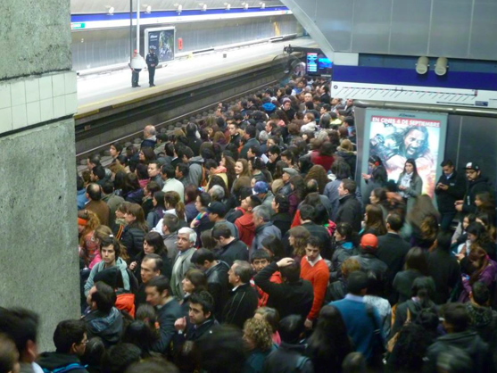Estación Tobalaba / © Plataforma Urbana