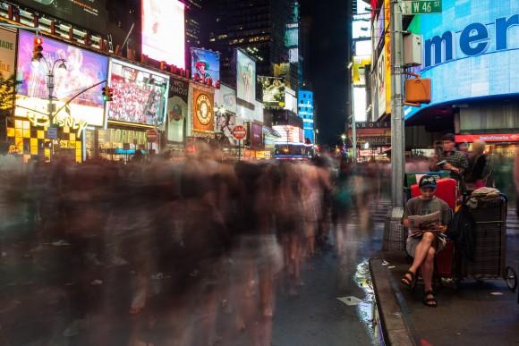 Vida nocturna en Nueva York. Image © Joana França