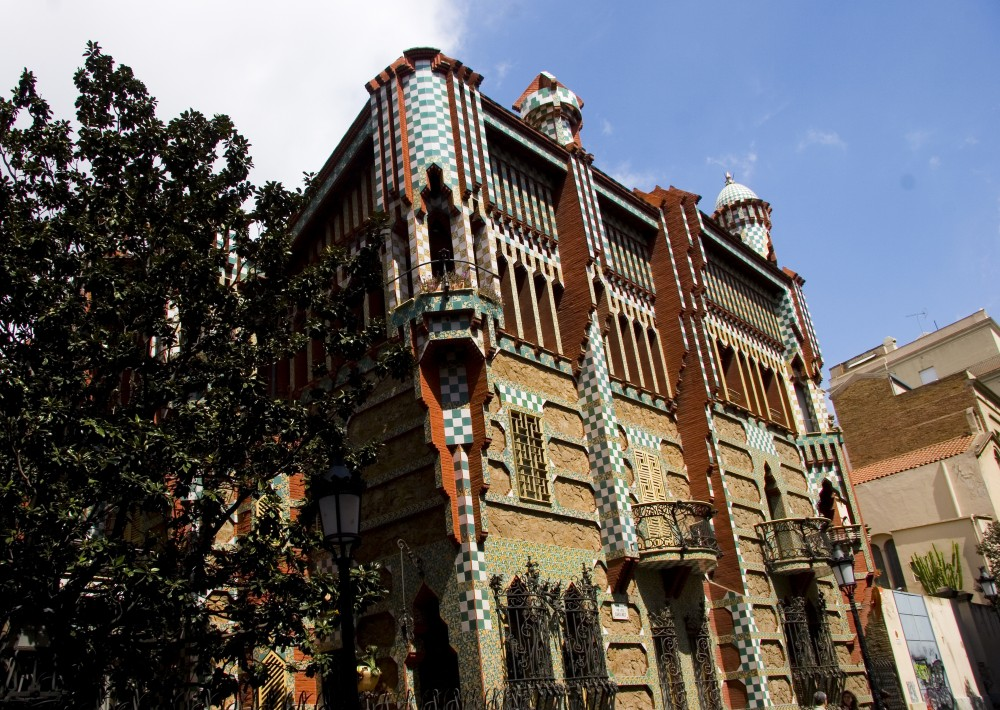 Casa Vicens. Image © Eric Huang [Flickr], bajo licencia CC BY-ND 2.0