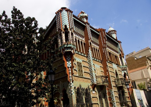 Casa Vicens. Image Eric Huang Flickr, bajo licencia CC BY-ND 2.0