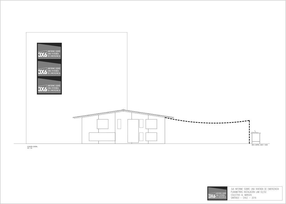 Elevación/fachada de instalación
