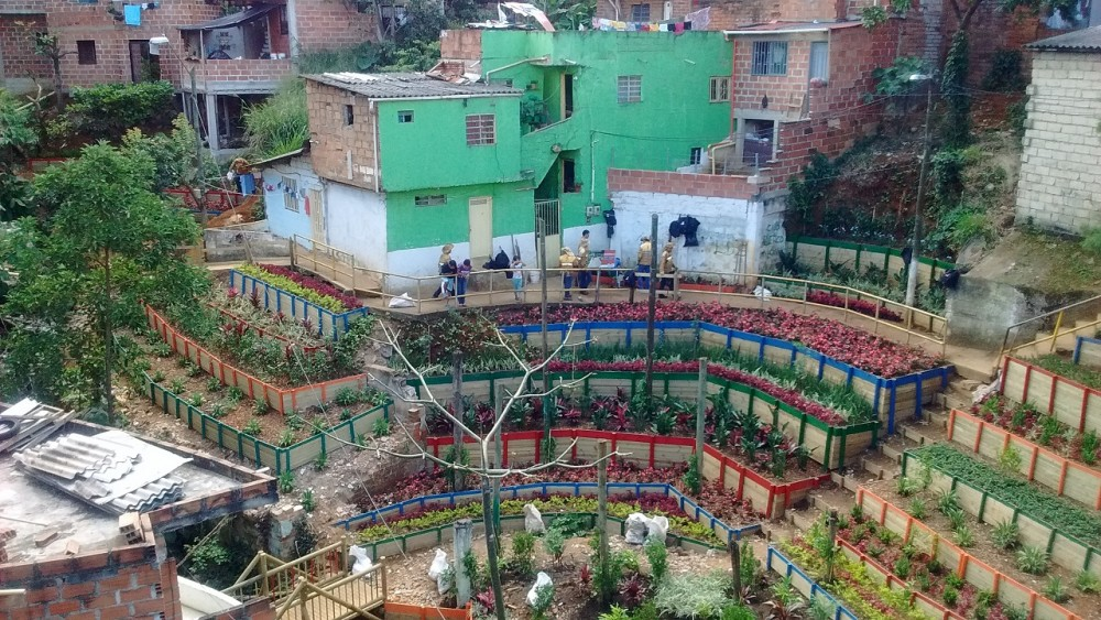 Después / Barrio Villa del Socorro, Comuna 2, Medellín. © Secretaría del Medio Ambiente de Medellín