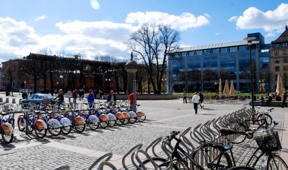 Bicicletas publicas Oslo Flickr usuario xiquinhosilva Licencia CC BY 2.0