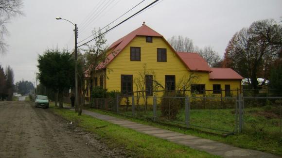 Casa Fehlandt, Máfil. © Consejo de Monumentos Nacionales