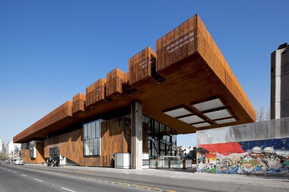 Centro cultural GAM. © Nico Saieh
