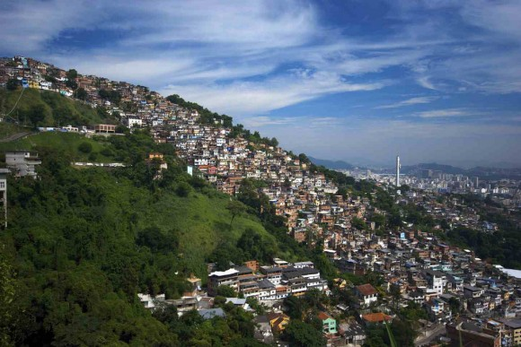 Favela Rio de Janeiro Flickr usuario kvn.jns Licencia CC BY 2.0