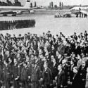 Inauguracion aeropuerto Pudahuel Santiago
