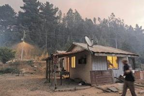 Incendio Dichato