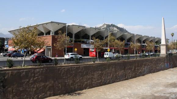 La Vega Central, Satiago. © Plataforma Urbana