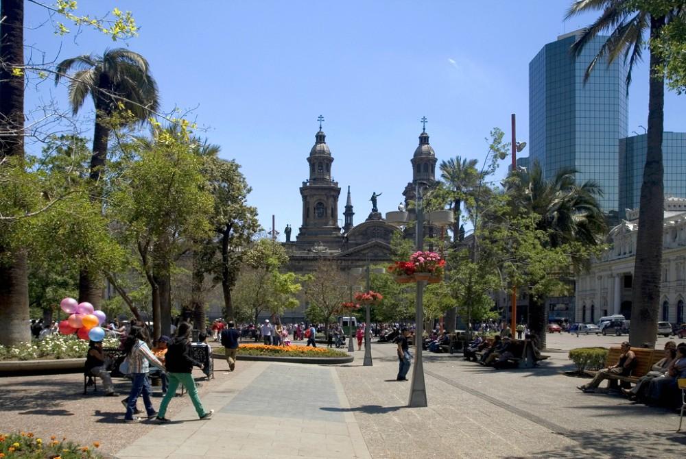 Plaza de Armas de Santiago Flickr usuario Joel Mann Licencia CC BY-NC-ND 2