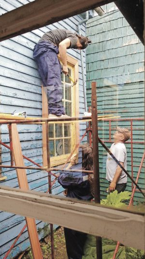 Reconstruccion Museo de Chonchi Chiloe