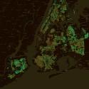 Nueva York, EE.UU. © Treepedia